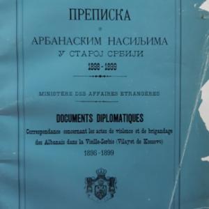 Prepiska o arbanaskim nasiljima u staroj Srbiji